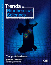 a cover of Trend in Biochemical Sciences, TiBS